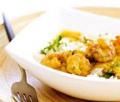 Receita Caril de camarão por Equipa Bimby - Categoria da receita Pratos principais Peixe