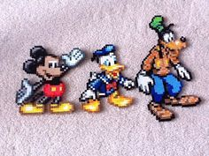 3 of the classic disney characters  NOT MY WORK
