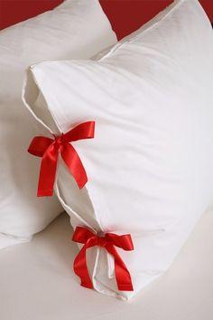 Bow tie pillowcase set of two