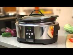 Instruktionsfilm För Crock-Pot The Original Slow Cooker Crock Pot Slow Cooker, Crockpot, Cooking Appliances, Cooking Recipes, The Originals, Kitchen, Ph, Youtube, Syrup