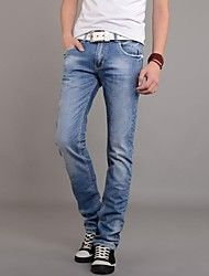 """Men's Casual Pure Jeans Pants ( Cotton/Denim ) – USD $ 19.00 from """"lightinthebox"""", utilize promotional codes and coupon codes for discounted price."""