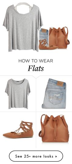 """☼23- Halter Bra and Lace Ups"" by ducky-momo-fangirl on Polyvore featuring Sophie Hulme, Abercrombie & Fitch, Chicnova Fashion and Liliana"