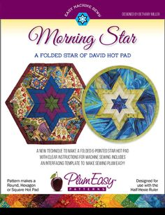 Morning Star: A Folded Star of David