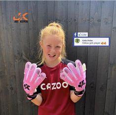 Goalkeeper Training, Professional Soccer, Training School, Gloves, Thankful, Female