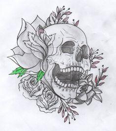 Cool Skull Tattoo Drawings | Tattoo Art Ideas