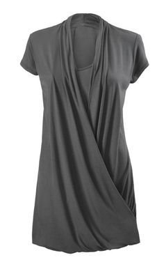 Cabi's Fickle Tee. This is not much to look at in this photo, but I like the way the model is wearing this on the Cabi website with jeans. (For some reason I was not able to pin the photo image from the website.)
