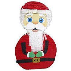 """Santa Claus Christmas Pinata, 20"""" Party Decoration and Game"""