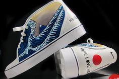 Japan Earthquake Relief by Nike Toki + Twitch. One-off sold on eBay for $346