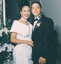 Esposo de Selena fue Chris Perez. Estaban enamorados.