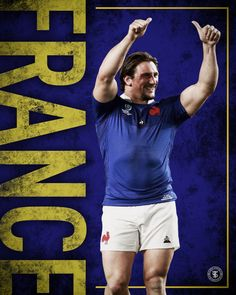 Poster for french rugby player camille chat in this six nations French Rugby Player, Six Nations Rugby, Rugby Players, Poster, Billboard