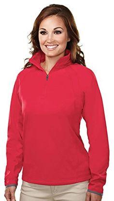 Tri-Mountain Women s 1 4 Zip Lightweight Fleece Pullover 68bef223d