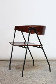 Pierre Guariche. 'Compass' Chairs. sold by Jarontiques