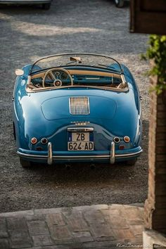 The Porsche 911 is a truly a race car you can drive on the street. It's distinctive Porsche styling is backed up by incredible race car performance. Porsche Sports Car, Porsche Cars, Porsche Classic, Retro Cars, Vintage Cars, Porsche 356 Speedster, Vintage Porsche, Classy Cars, Cabriolet