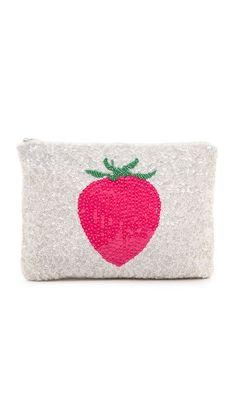 Santi Strawberry Clutch