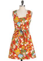 Think Outside the Window-Box Dress