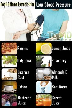 Niskie ciśnienie krwi – Domowe sposoby.