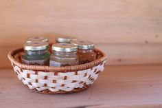 Pure Raw Honey Tea Gift set of 5 in gift basket by honeyteathyme, $32.00