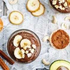 Gezonde chocolademousse met avocado - Amber Albarda