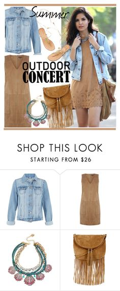 """Outdoor Summer Concert"" by duma-duma ❤ liked on Polyvore featuring Warehouse and Betsey Johnson"