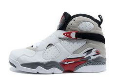 brand new 04530 91c6c Mens Air Jordan 8 Retro Bugs Bunny White Black-True Red Nike Air Jordans