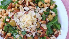 Cuscús con tomates secos y garbanzos | Ensalada de cuscús Veggie Recipes, Healthy Recipes, Healthy Meal Prep, Black Eyed Peas, Potato Salad, Grains, Salads, Clean Eating, Rice