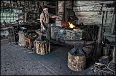 The Blacksmith by Uncle_Greg, via Flickr