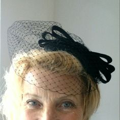 Hat for Helen, 50s bride