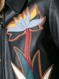 TORY BURCH Maddie Leather Jacket in Llack