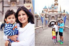anaheim theme park family photos, family photos at disneyland, theme park vacation photos