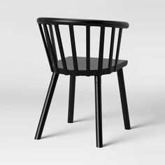 Set of 2 Balboa Barrel Back Dining Chair Black - Project 62 Plastic Board, Mini Desk, Apartment Makeover, Wooden Leg, Red Oak, Next At Home, Decoration, Dining Chairs, Dining Rooms