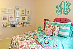 carolina on my mind: Big Girl Bedroom: Ikea Spice Racks as Bookshelves