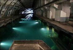 abandoned underground submarine base (balaklava, russia)