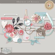 Showers of Kisses - Elements | SAS Designs