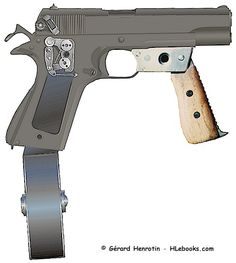 Colt .45 full auto conversion Ebook download page: http://www.hlebooks.com/ebook/col5load.htm