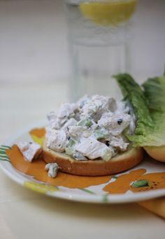 Yum! Chicken Salad Sandwiches http://ridgelysradar.com/2016/07/chicken-salad-sandwiches.html