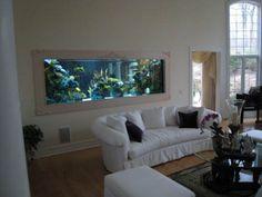 aquarium in home interior, home interior decorating, home interior decoration, aquarium in bedroom