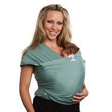 "I think this would be SO USEFUL come Lentil Fest time...  Moby Wrap Baby Carrier - Moss - Moby Wrap - Babies ""R"" Us"