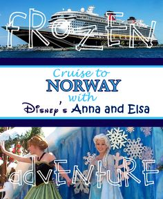 Disney released the itineraries for their 2016 cruises, including a cruise to Norway where Anna and Elsa will make an appearance. Start planning here!