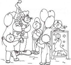 Die 171 Besten Bilder Von Thema Zirkus Clowns Clown Party Und