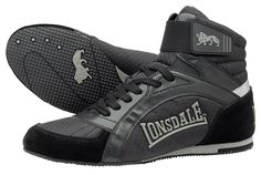Lonsdale boxing boots swift - black