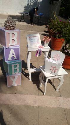 Set de entrada  baby  shower  niña