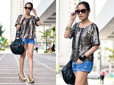 Shine and Shimmer (BMS) (by Laureen Uy) http://lookbook.nu/look/2770215-Shine-and-Shimmer-BMS