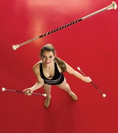 Baton twirler Sabrina Smith has traveled the world competing and spreading good will. #NotableTeens