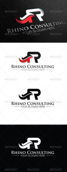 53 best logo templates images on pinterest logo templates modern rhino logo template this could be used for consulting firms law firms construction companies and etc fonts used helvetica neue font family reheart Images