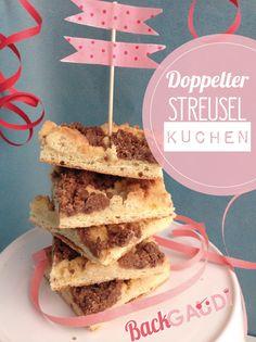 Doppelter Streuselkuchen – BackGAUDI