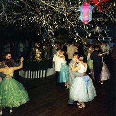 With Prom coming up this weekend, take a look back at a Chelsea High School Dance from the These photos were taken by Vintage Prom, Retro Vintage, Vintage Dance, Lovely Dresses, Flower Girl Dresses, Prom Dresses, Wedding Dresses, Dance Dresses, High School Dance
