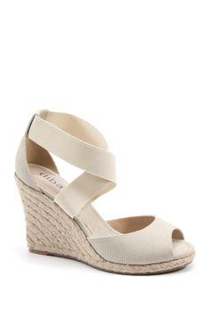 Bronx & Diba Decadent Wedge Sandal//