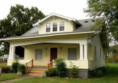 Wholesaling houses for quick cash is one strategy every investor should have in their toolbox. But make no mistake, wholesaling is a job. Craftsman Exterior, Craftsman Style Homes, Craftsman Bungalows, Craftsman Porch, Craftsman Cottage, Bungalow Exterior, Wholesaling Houses, Cottages And Bungalows, Vintage House Plans