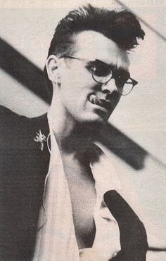 Morrissey. A piece of passion