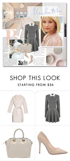 """""""You rock my world  - Shein.com"""" by undici ❤ liked on Polyvore featuring WALL and 'S MaxMara"""